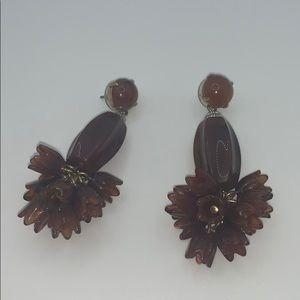 Stunning unique J. Crew earrings